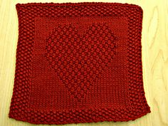 For Heart Day: Mo Chroi washcloth by Eileen Casey