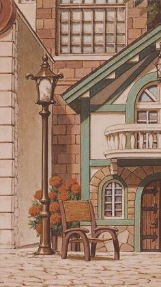 Anime Scenery Wallpaper, Aesthetic Pastel Wallpaper, Aesthetic Wallpapers, Kawaii Wallpaper, Cartoon Wallpaper, Animes Wallpapers, Cute Wallpapers, Aesthetic Art, Aesthetic Anime