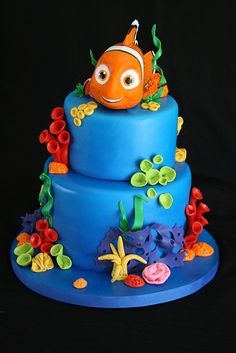 Nemo Cake by creative and delicious sweets (Sandy), via Flickr