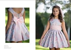 Unique Dresses, Dresses For Teens, Little Girl Dresses, Cute Dresses, Girls Dresses, Toddler Girl Style, Toddler Fashion, Girl Fashion, Baby Frocks Designs