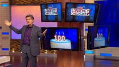 The Oz-Approved Longevity Checklist, Pt Dr. Oz reveals ten tips that will help you reach a ripe old age – and feel good as you get there! Learn how to stress less, sleep more and live longer today. Old Age, Stress Less, Dr Oz, Live Long, Good Night Sleep, Feel Good, Anti Aging, The 100, Health Fitness
