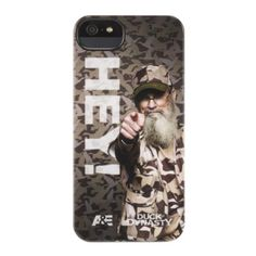 GRIFFIN IPHONE 5/5S DUCK DYNASTY CASE - HEY #iphone5case, #iphone5scase, #duckdynasty www.myphonecase.com