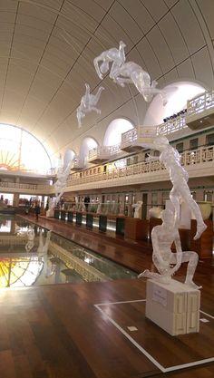 ESAAT - Installation Musée de la Piscine Roubaix - sculptures 2016