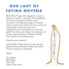 Novena Prayers, Lady Of Fatima, Our Lady, Meditation, Forget, Social Media, Words, Phone, Memes