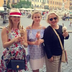 Pin for Later: Celebrity Summer Holidays That Are Sure to Make You Jealous Reese Witherspoon Reese and her daughter, Ava, joined Reese's mum for an Italian girls' holiday in June.