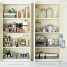 Organize your pantry with pantry organizers from The Container Store! Our pantry organizers come in many designs and sizes to fit any kitchen pantry space. Under Cabinet Drawers, Kitchen Cabinet Storage, Diy Kitchen Cabinets, Pantry Storage, Pantry Organization, Kitchen Pantry, Storage Cabinets, Pantry Shelving, Kitchen Sink