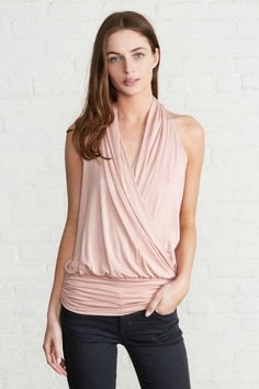 Southern Muse Soft Pink Agnes Top