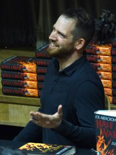 Joe Abercrombie discusses Half a War with a fantastic audience on July 14th.