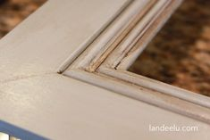 Landee See, Landee Do: From Door Step to Mantle in Under 72 Hours Build A Picture Frame, Big Picture Frames, Build A Frame, Diy Frame, Frame Within A Frame, Wooden Serving Trays, Door Steps, Large Frames, Frames For Canvas Paintings