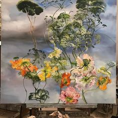 Claire Basler (@clairebasler) • Instagram photos and videos Claire Basler, Drawing Projects, Paintings I Love, French Artists, Floral Wall, Texture Art, Types Of Art, Botanical Art, Oeuvre D'art