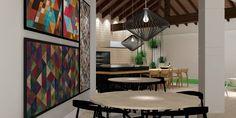 Projeto Desígnio Arquitetos RAB.Reforma da Churrasqueira. O objetivo principal era dar uma nova cara ao local. Optamos por utilizar materiais com texturas variadas, como tijolo, madeira, pedras, para dar mais expressividade ao ambiente. #desígnioarquitetos#arquitetura #design #decoração