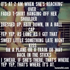 Dustin Lynch ~ Where It's At