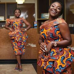 latest ankara skirt and blouse skirt and blouse style for wedding,latest ankara short skirt and blouse styles 2018 Ankara Skirt And Blouse, Ankara Dress Styles, Trendy Ankara Styles, Blouse Styles, African Attire, African Wear, African Women, African Lace Dresses, African Fashion Dresses