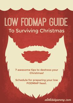 Low FODMAP Guide To Surviving Christmas