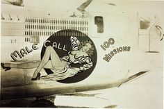 """Male Call"" 380th Bomb Group Consolidated B-24 Liberator by San Diego Air  Space Museum Archives, via Flickr"