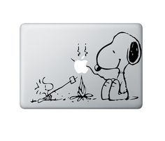 Snoopy marshmallow roast a lá MAC