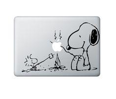 Snoopy marshmallow roast a lá MAC