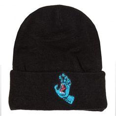 1fbc163a98bc6 SANTA CRUZ bonnet Screaming Hand Beanie noir 35