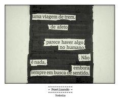 """Poesia """"achada"""" no jornal do dia 08/01 pela poeta Lilian Aquino."""