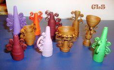 GLS2007: Квиллинг-вазочки