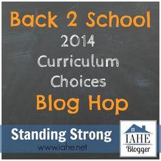 IAHE's Back-2-School Blog Hop - Indiana Association of Home Educators