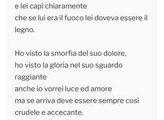 Fabrizio De Andrè, Giovanna D'Arco  (Aveva capito chiaramente che se lui era fuoco lei doveva essere legno/ se arriva deve essere sempre così: crudele e accecante)