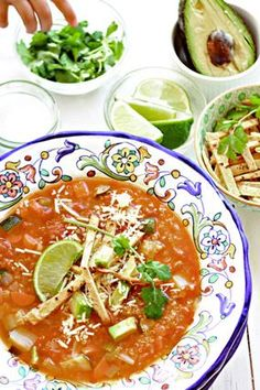 vegetarian quinoa tortilla soup recipe from the #yummymummykitchen cookbook