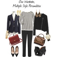 How to manage your wardrobe when you have multiple style personalities!
