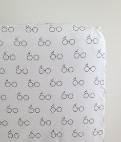 harry potter in white fitted crib sheet – madly wish #harrypotter #nursery