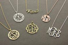 Personalized jewelry!