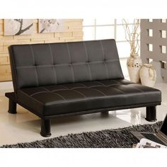Save more and buy online! The new Furniture of America Quinn Sofa Futon provides a comfortable seat and beautiful style. Las Vegas Furniture Online | LasVegasFurnitureOnline | Lasvegasfurnitureonline.com
