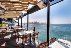 GoAltaCA | San Diego's 15 Best Waterfront Restaurants - If you aren't eating by the ocean, you're doing it wrong.  Pictured: C Level, Harbor Island