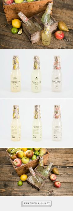 Kiviks Musteri fruit drinks (student project) by Josefine Johansson. Source: Daily Package Design Inspiration. Pin curated by #SFields99 #packaging #design