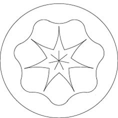Rhythm ~ Saturday: Saturn ~ The seven planetary seals are images drawn by Rudolf Steiner