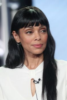 Tamara Taylor Photos Photos - Actress Tamara Taylor of the television show 'Bones' speaks onstage during the FOX portion of the 2017 Winter Television Critics Association Press Tour at Langham Hotel on January 11, 2017 in Pasadena, California. - 2017 Winter TCA Tour - Day 7