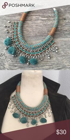 Bali necklace Free people tribal necklace adjustable in the back  handmade beautiful Free People Jewelry Necklaces