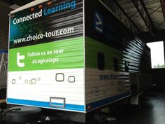 Here is a preview of the mobile classroom exterior!