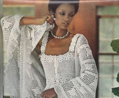 Vintage 1970s Lacy Camisole & Shawl Crochet PDF Patterns on Etsy, $3.91 CAD