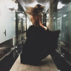 She was simply beautiful my favorite part about her is that she just didn't care what others thought. I remember the night I first meet her i was walking down to the subway and there she was at 2am wearing a long black dress that blew rapidly as the train went by