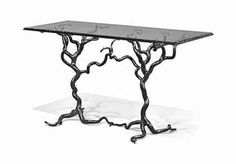 THE 'SAVERNAKE FOREST' FORGED STEELCENTRE TABLE