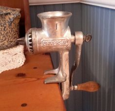 Vintage Meat Chopper/Grinder by OurVintageNest on Etsy