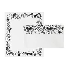Fleurs for You Letterhead Set — Mr. Fine Paper, Paper Packaging, Wax Seals, Letterhead, Notes, Studio, Prints, Envelopes, Stationary