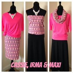 What can you do with a LuLaRoe Cassie, an Irma and a Maxi?