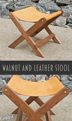 In this project, I'll show you how to build a modern Walnut and leather stool. This was a fairly simple build, but I absolutely love the way it turned out.