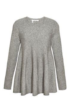 Flared Wool-Blend Knit Top by Derek Lam 10 Crosby - Moda Operandi