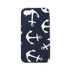 J.Crew anchor iPhone cover.