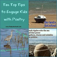 Great list of poetry reading and writing activities from The Book Chook #nationalpoetrymonth