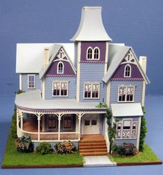 Pat Russo paint colors for dollhouse