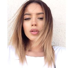 Love this ashy ombre. #hair #ashy #ombre #blonde