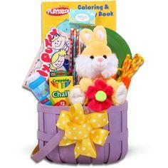Little cottontails easter activity easter basket blue walmart jamboree bunny and art supplies easter basket walmart negle Choice Image